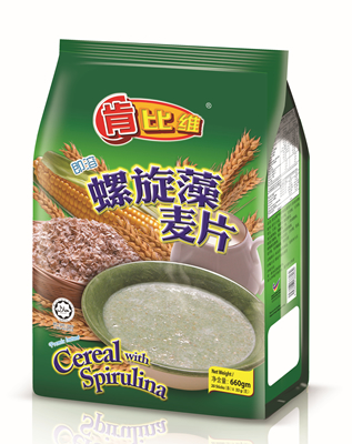 Cereal with Spirulina